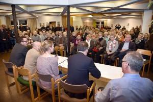 Nahversorgungsveranstaltung mit OB Mucke (Foto soll zeigen wie viele Menschen da waren) Evangelischen Gemeindezentrum am Eckbusch, Am Eckbusch 29